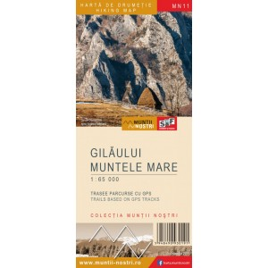 Harta Muntii Nostri Muntii Gilaului si Muntele Mar...