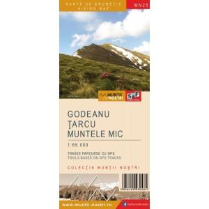 Harta Muntii Nostri:Godeanu,Tarcu,Muntele Mic