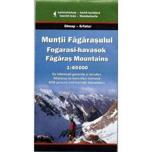 Harta Muntii Fagarasului